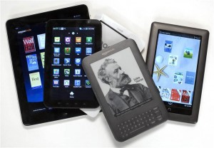 Different types of E-readers