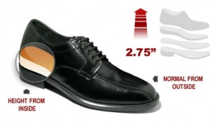 A platform shoe for men