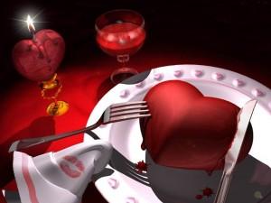 A romantic dinner