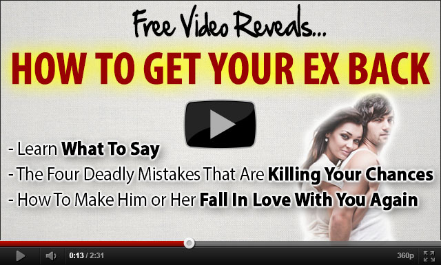 get your ex back trailer