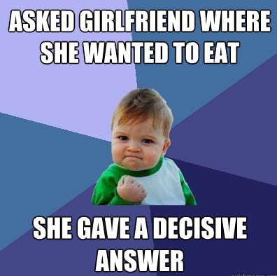 decisive girlfriend