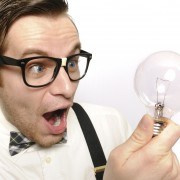 nerdy guy