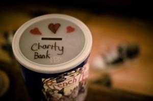 charity bucket