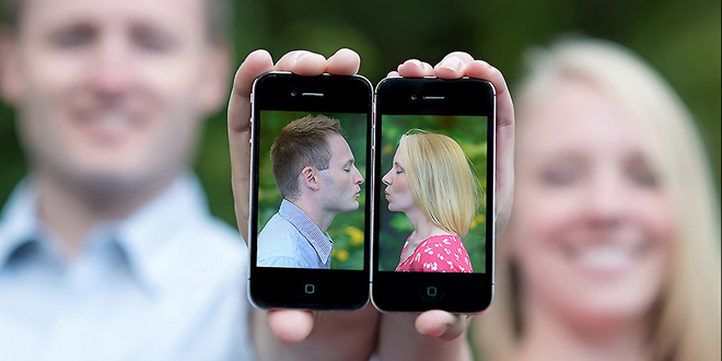 Couple found each other online
