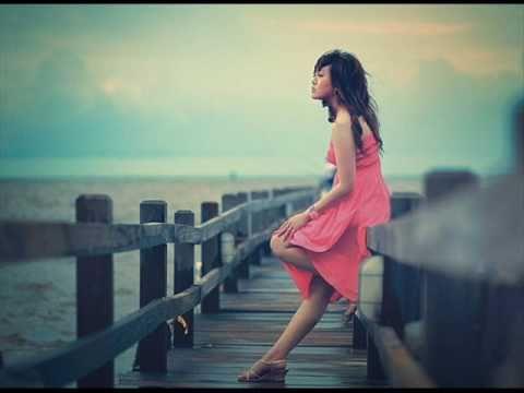 Woman staring at the sea