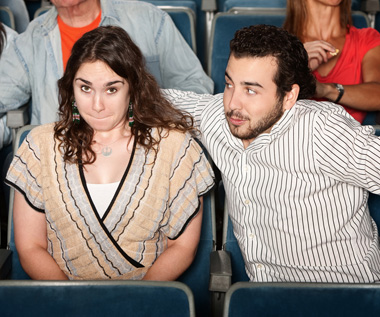 An awkward couple