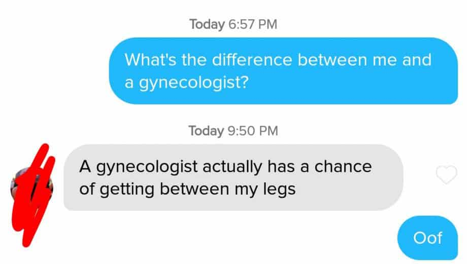 tinder messages