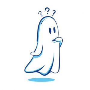 confused ghost